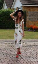 TOPSHOP *Cream* FLORAL MAXI DRESS UK10 BNWT bloggers