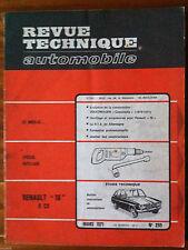 """RTA du 3/1971; Renault """"16 """" 6 Cv/ Evolution Coccinelle/ Spécial Outillage"""