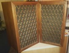 Pair Vintage Pioneer CS-77A Speakers Cabinets Working (Tested) Excellent!