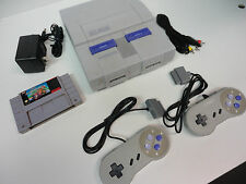 Super Mario Kart--Super Nintendo SNES + 2 Controllers Console Video Game System