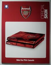PS4 Console Skin , Official Arsenal FC Skin . New .