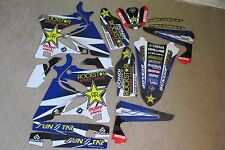FLU DESIGNS PTS TEAM ROCKSTAR  GRAPHICS YAMAHA YZ125 YZ250 2002-2014   #71052