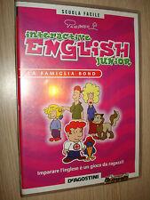 CD ROM N° 1 INTERACTIVE ENGLISH JUNIOR LA FAMIGLIA BOND DEAGOSTINI CORSO INGLESE