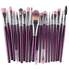 20PCS Make Up Brushes Foundation Eyebrow Eyeliner Blush Cosmetic Concealer Brush