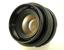 Rare Exaktar 55mm F1.8 Fast Prime Lens M42 Mount. Can Adapt to Digital