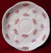 SHELLEY china ROSEBUD (dainty shape) pattern Saucer @ 5 1/2""