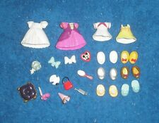 Super Cute POLLY POCKET Style Minnie Mouse dress up doll clothes shoes Disney