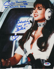 "007 : CAROLINE MUNRO BEST EVER AS ""NAOMI"" AWESOME INSCRIBED PHOTO PSA"