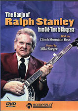 The Banjo Of Ralph Stanley Old Time to Bluegrass DVD
