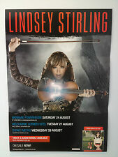 LINDSEY STIRLING 2013 Australian Tour Poster Americas Got Talent TYLER WARD *NEW