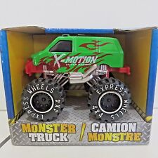 Monster Truck by Turbo Wheels, Diecast Toy Van - Green X Motion, New in Box