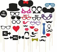 SYGA Set Of 36 Funny Party Photo Booth Props