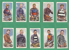 JOHN  PLAYER  &  SONS  -  RARE  SET  OF  50  SPEEDWAY  RIDERS  CARDS  -  1937
