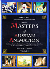 Masters of Russian Animation - Volume 4 DVD, NEW