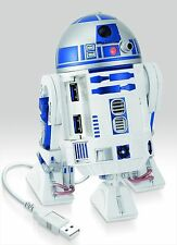 STAR WARS R2-D2 USB HUB 3.0 4 Port LED & Sound Moving F/S from jp With Tracking