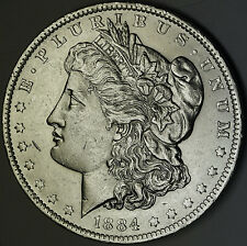 1884-o Morgan Silver Dollar Full Chest Feathers BU 80877 (Inv. B)