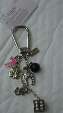 COACH  LUCKY MIX KEY CHAIN / FOB / PURSE CHARM, BNWT