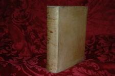 Libro Antico 1750 Prediche di Massillon Vescovo Clermont Quaresimale Tomo I - II
