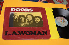 DOORS LP LA WOMAN 1°ST ORIG YUGOSLAVIA 1974 EX GIMMIXCOVER TOP COLLECTOR INNER