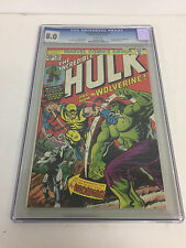 INCREDIBLE HULK 181 CGC 8.0 WHITE PAGES 1ST APP WOLVERINE TRIMPE 1974