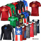 Da Uomo Tony Flash Marvel Sport Tee Supereroe T-shirt Ragazzi