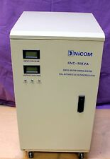 AUTOMATIC VOLTAGE REGULATOR/STABILIZER 15KVA 220 VAC SINGLE PHASE MOD.SVC15