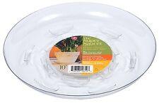 "8 of the 8"" Plant Pot Saucer HEAVY DUTY Plastic Vinyl Flower Round"