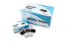 """New 60 PCs 25mm 1"""" Binder Clips, small Size Metal Paper Binding Office 5 DOZ"""