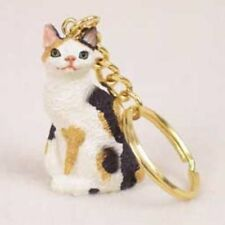 japanese bobtail cat key chain great gift