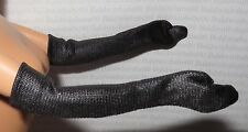 GLOVES ~ MATTEL BARBIE DOLL GIVENCHY BLACK ELBOW GLOVES ACCESSORY CLOTHING