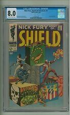 Nick Fury, Agent of SHIELD #1 (CGC 8.0) OW/W pages; Scorpio; Steranko (c#12820)