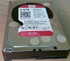 """6TB WESTERN WD 60 efrx Red NAS SATA III Unidad De Disco Duro HDD de 3.5"""""""
