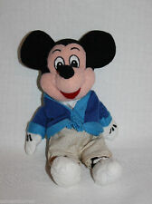 DISNEY STORE CAST MEMBER MICKEY MOUSE Exclusive RARE Mini Bean Bag Plush