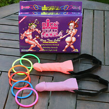 Bachelorette Party Hens Night Party Willy Dick Head Hoopla Ring Toss Game
