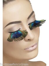 Peacock Feather Lashes Flower Fairy Festival Bird Of Paradise Eyelashes