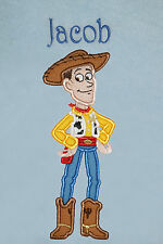 Woody (Toy Story) Personalised Super Soft Fleece Baby Blanket