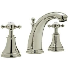 Rohl by Perrin & Rowe Georgian Era Widespread Bathroom Faucet Polished Nickel