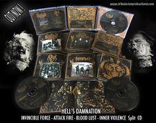 Invincible Force/Attack Fire/Bloodlust/Inner Violence – split CD Thrash Metal