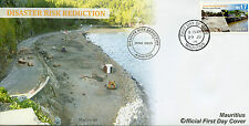Mauritius 2015 FDC World Environment Day 1v Set Flooding Disaster Risk Reduction
