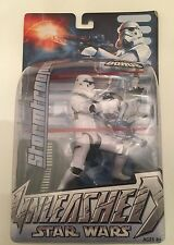 "STORMTROOPER Star Wars Unleashed Collection 6"" inch w/Bonus Figure Hasbro 2004"