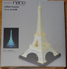 Eiffel Tower Paper Nano 3D Laser Cut Intricate detail paper model PN-112 Kawada