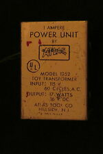 ATLAS 16 VOLT POWER PACK TOY TRANSFORMER~ TESTED @ 15.0 VOLTS ~ GOOD, USED COND!