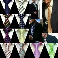 New Neck tie Mens Ties 100% Silk Groom Wedding Party Handmade Necktie FS1-27