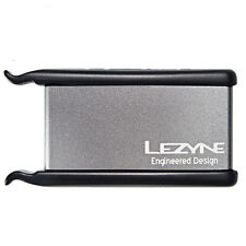 Lezyne Lever Patch Kit - Bike Puncture Repair Kit - Silver
