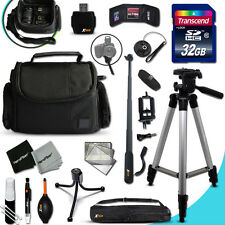 Xtech Kit for Canon POWERSHOT N100 Ultimate w/ 32GB Memory + Case +MORE