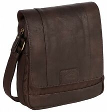 CAMEL ACTIVE+STOCKHOLM+SHOULDER BAG+TASCHE+UMHÄNGETASCHE+BRAUN+HERREN+TABLETFACH
