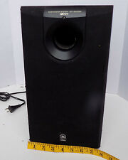 YAMAHA YST-SW005 Wired Floor-Standing Tower Active Subwoofer Tested-Great Sound!