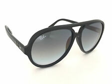 Authentic Ray-Ban RB4125 601/32 Cats 5000 Black Frame Lens Grey Gradient 59mm