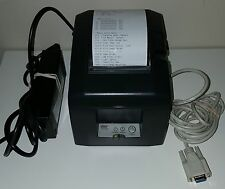 Star TSP 650 Thermal Receipt Printer w/ Cable & Power Cord (B)