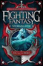 Stormslayer (Fighting Fantasy), By Steve Jackson, Ian Livingstone,in Used but Ac